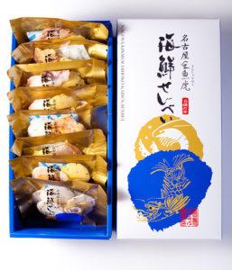 名古屋金鯱海鮮せんべい金袋8個入り